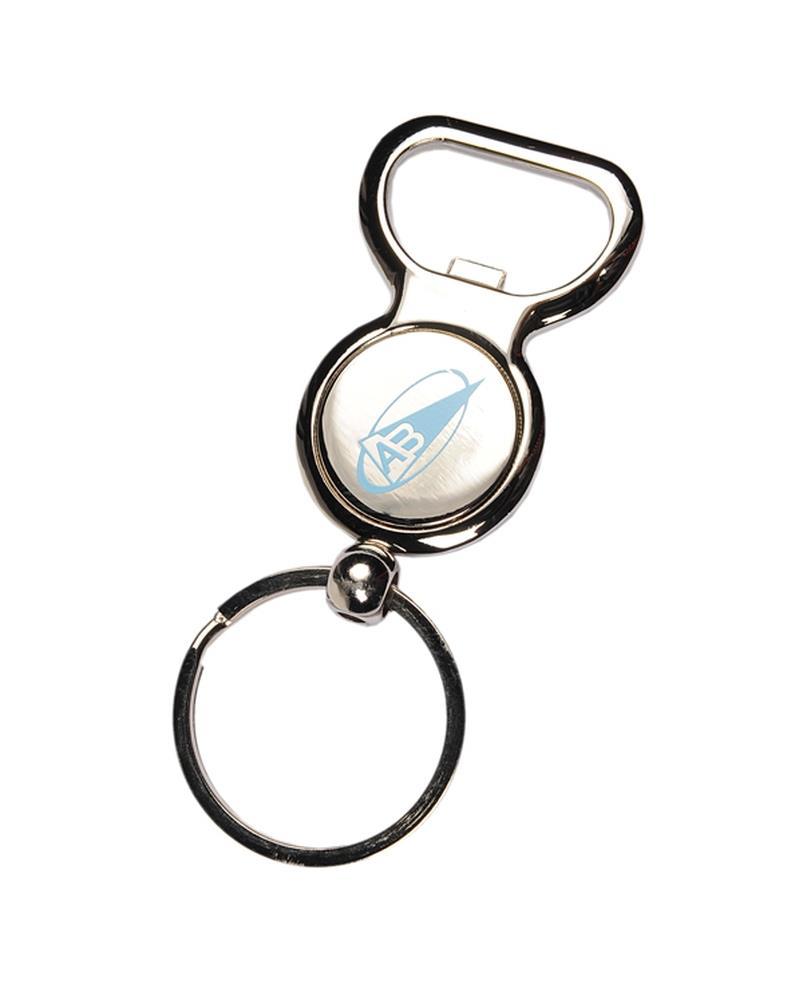 PorteClés DecapsuleurJeton De Caddie Goodies Accessoires - Porte clé décapsuleur