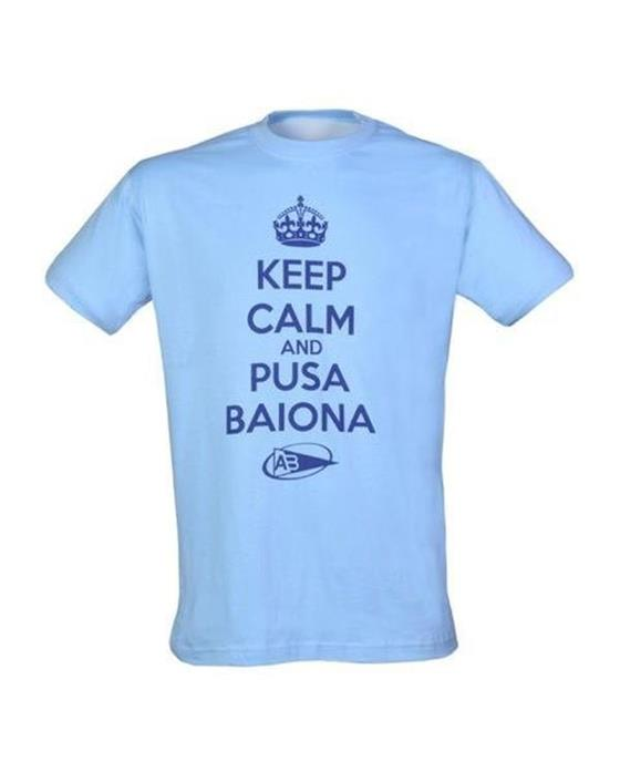 Tee-Shirt Keep Calm Pusa AB